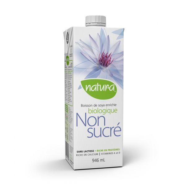 Natura – Boisson de soya non-sucré biologique 946ml 10062
