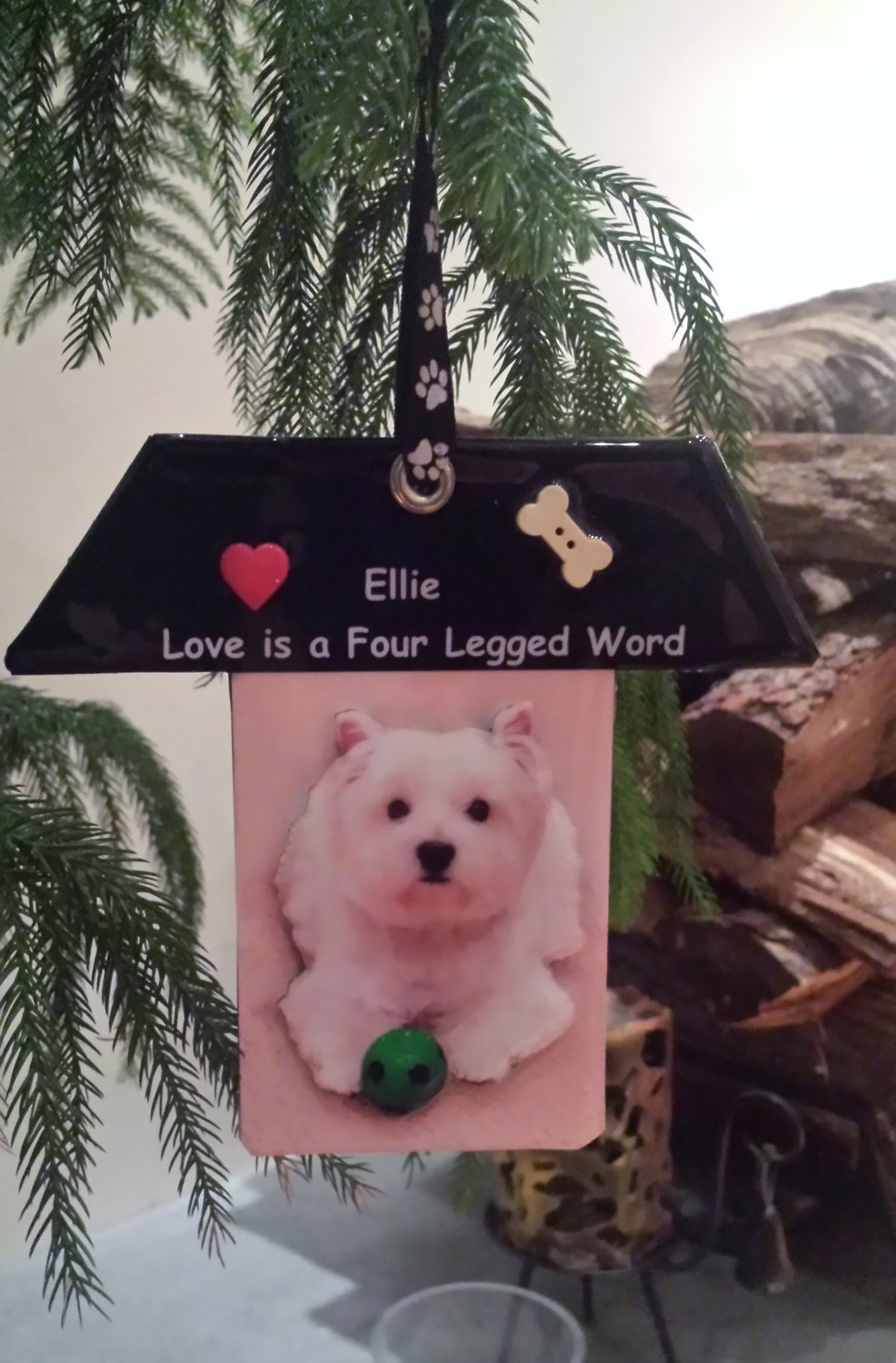 Personalized 3D Photo Ornament