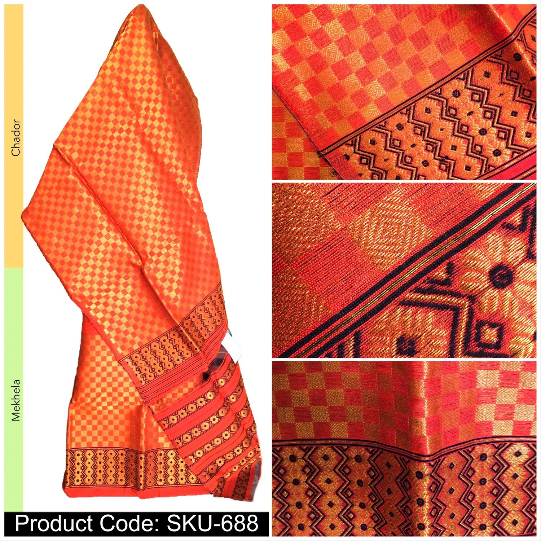 Ready To Wear Ludhiana paat Mekhela chador