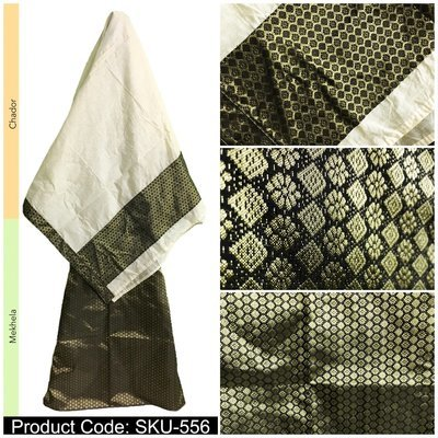 Mekhela Chador with heavy blouse