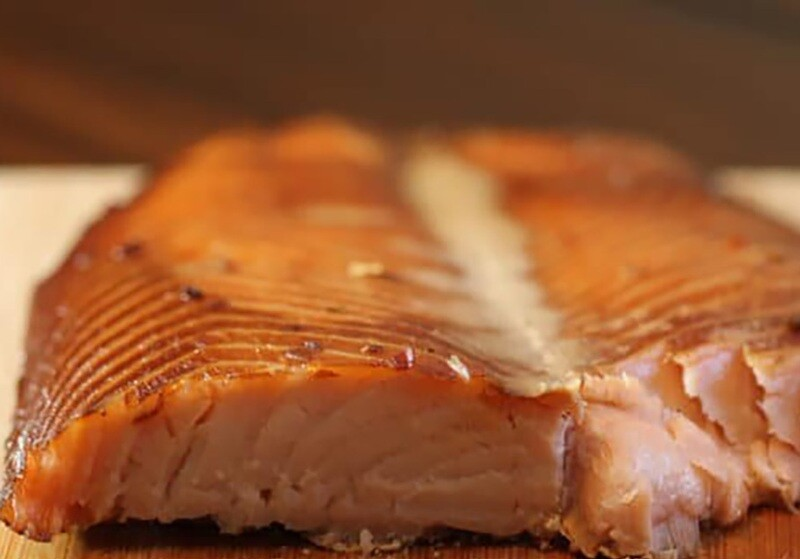 Fresh Baked Salmon Fillets