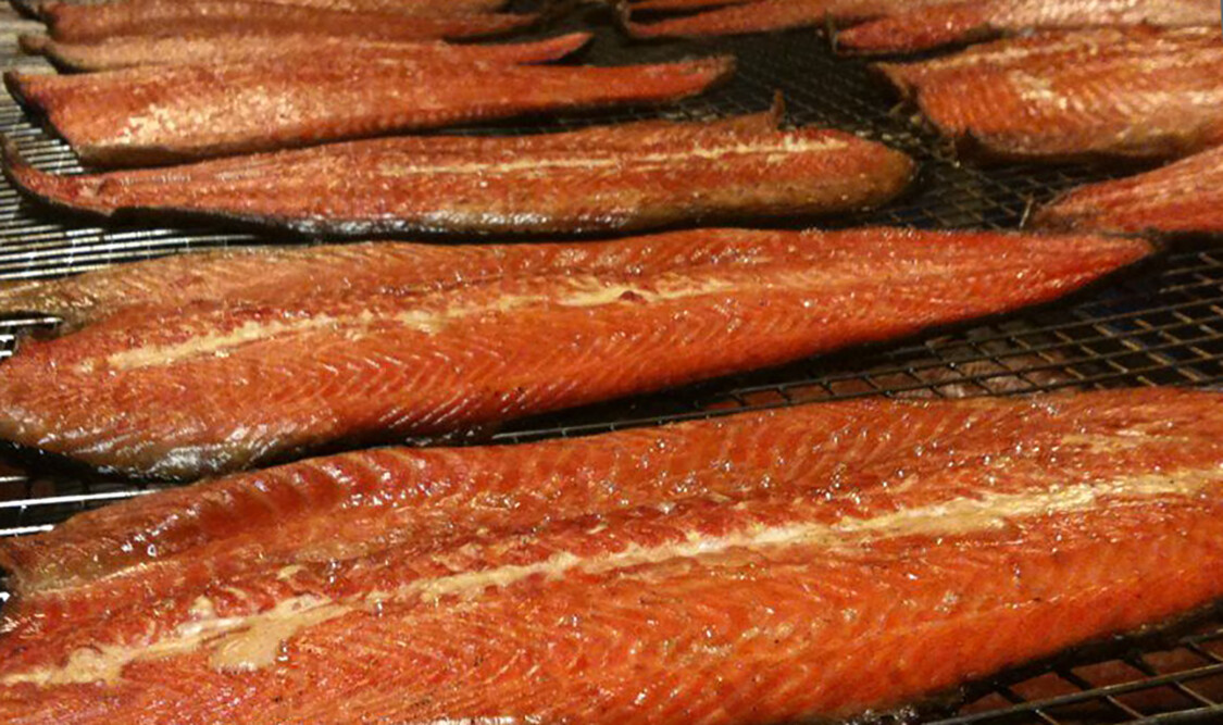 Hot sMoked Salmon Fillets
