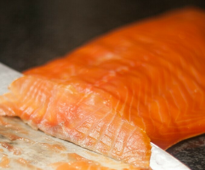 Truffle Infused Cold sMoked Salmon Fillet
