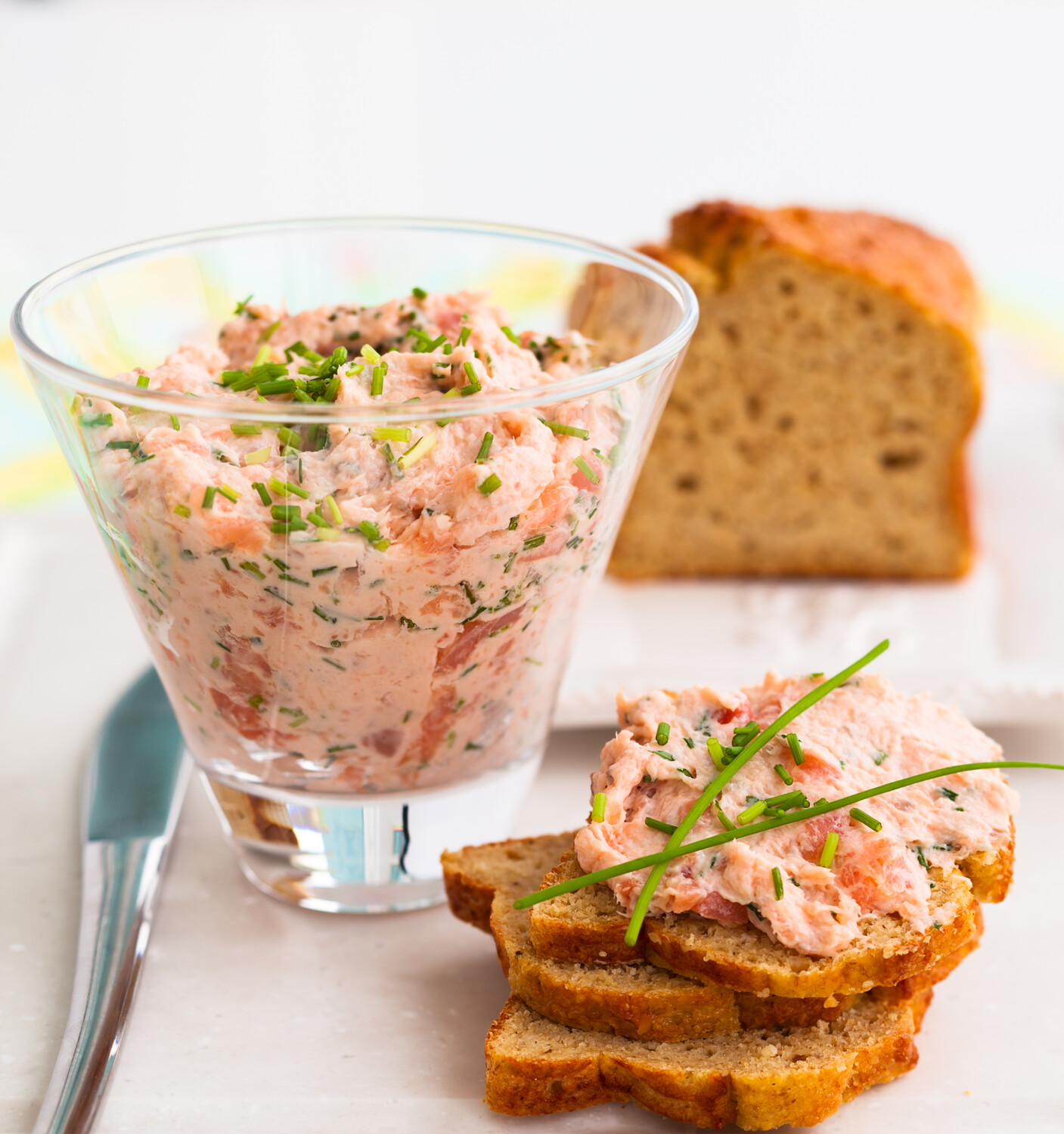 Truffle Infused Cold sMoked Salmon Spread