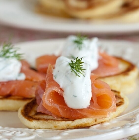 Truffle Infused Cold sMoked Salmon
