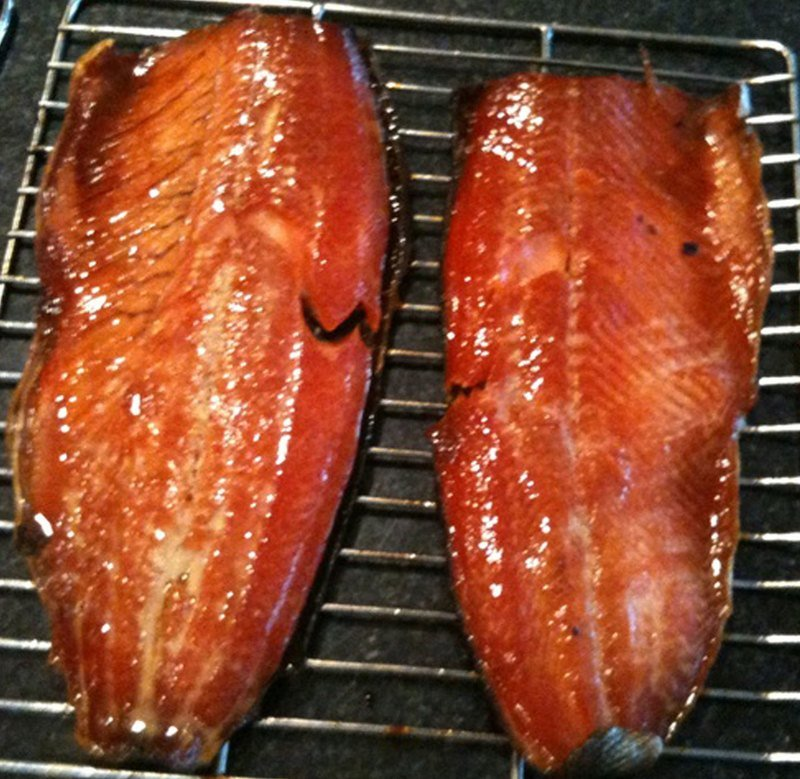 Cafe Infused Salmon Fillet Baked in Real Wood sMoke