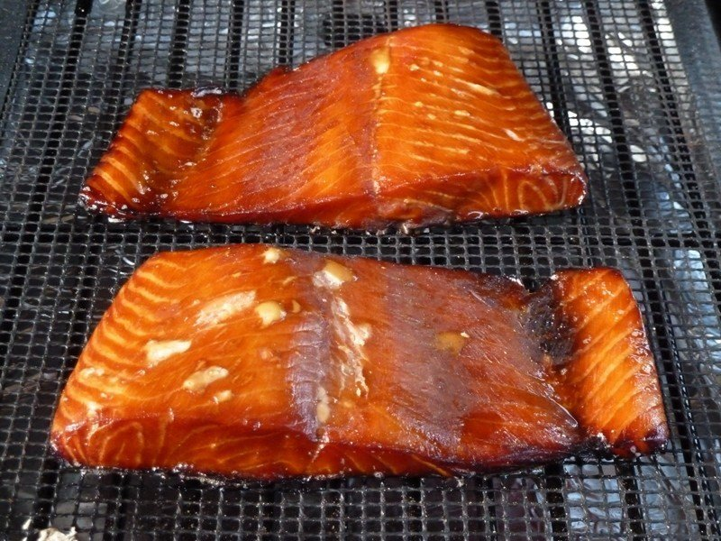 Naturally Infused Salmon Portion Hot sMoked in Real Wood