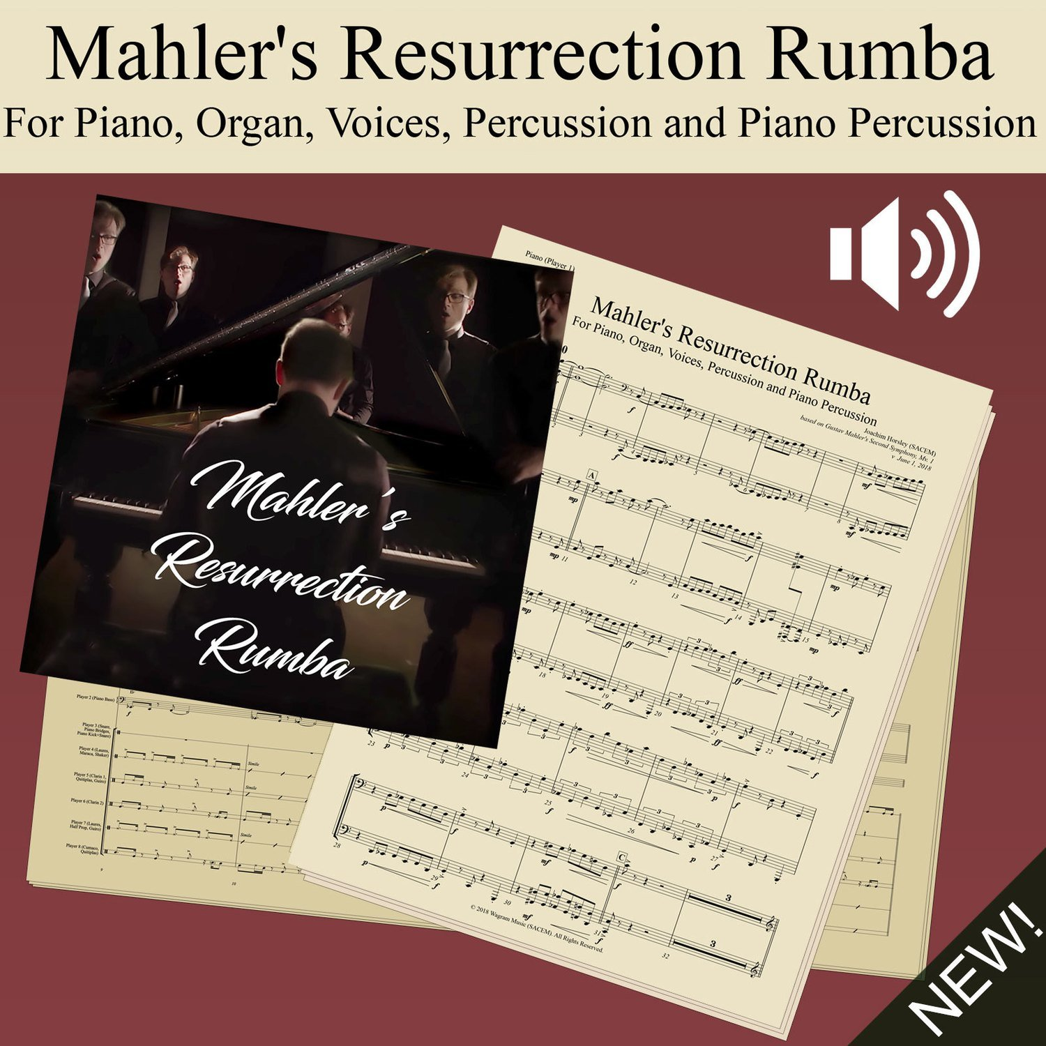 Mahler's Resurrection Rumba (Score and Parts)