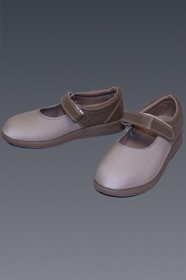 Opedic Adjustable Mary Janes (Beige)