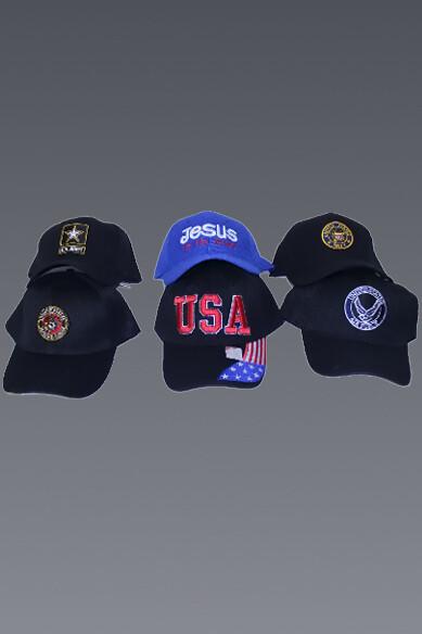 Assorted Baseball Caps