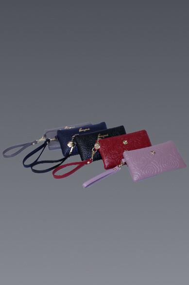 Zip Top Embossed Mini Bag