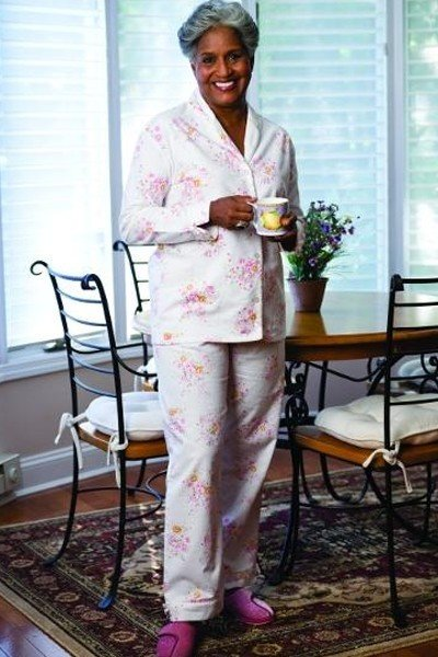 Ladies Flannel Pajamas