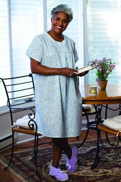 Lightweight Short Sleeve Nightgown