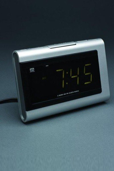 Large Display Clock Radio