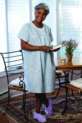 Lightweight Short Sleeve Nightgown