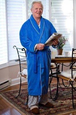Men's Terry Bath Robe