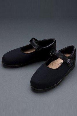 Opedic Adjustable Mary Janes (Black)
