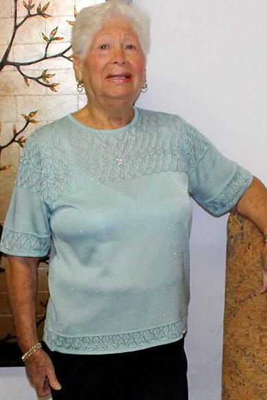 Designer Short Sleeve Pullover Top