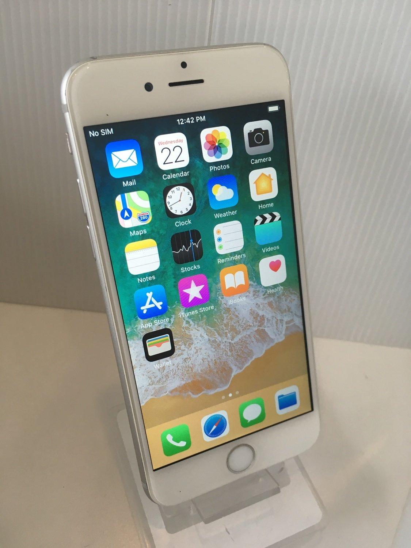 Grade B+: BELL / VIRGIN MOBILE Locked Pentaband Apple iPhone 6 Silver 16GB