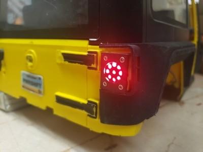 2 Door Hard Body JK HV Taillights