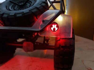 Axial UMG 10 Taillight Buckets
