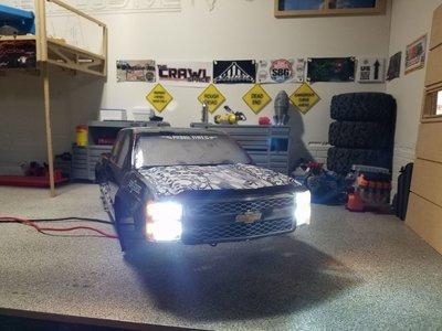 Proline™ 2014 Chevy™ Silverado™ body for tmaxx / savage version.