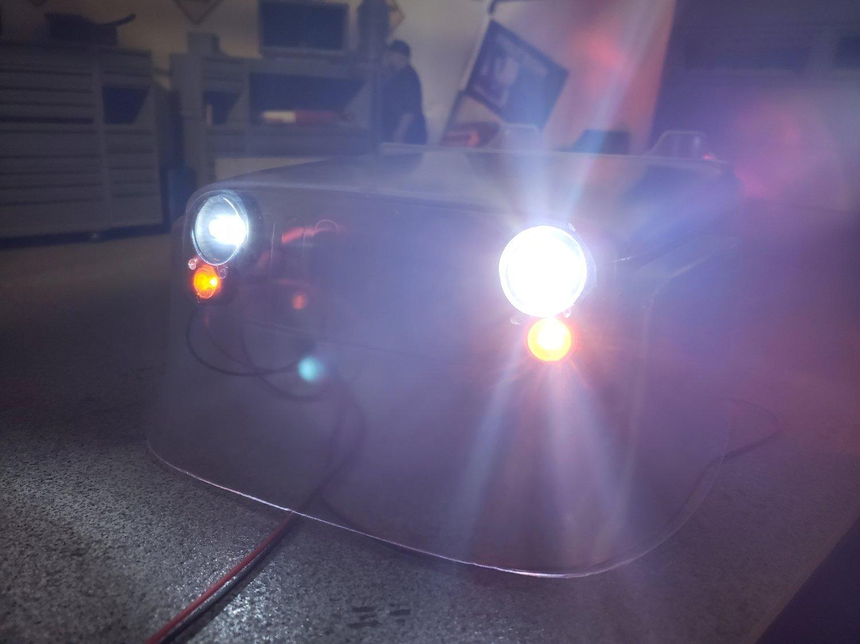 AXIAL JEEP G6 BODY O.E.M LIGHT KIT