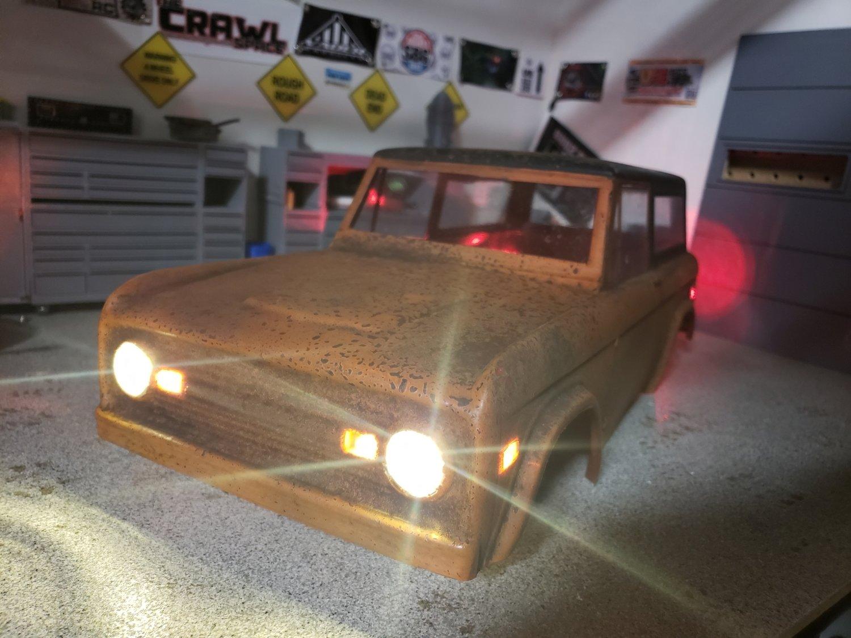 Proline 73 Bronco full light kit