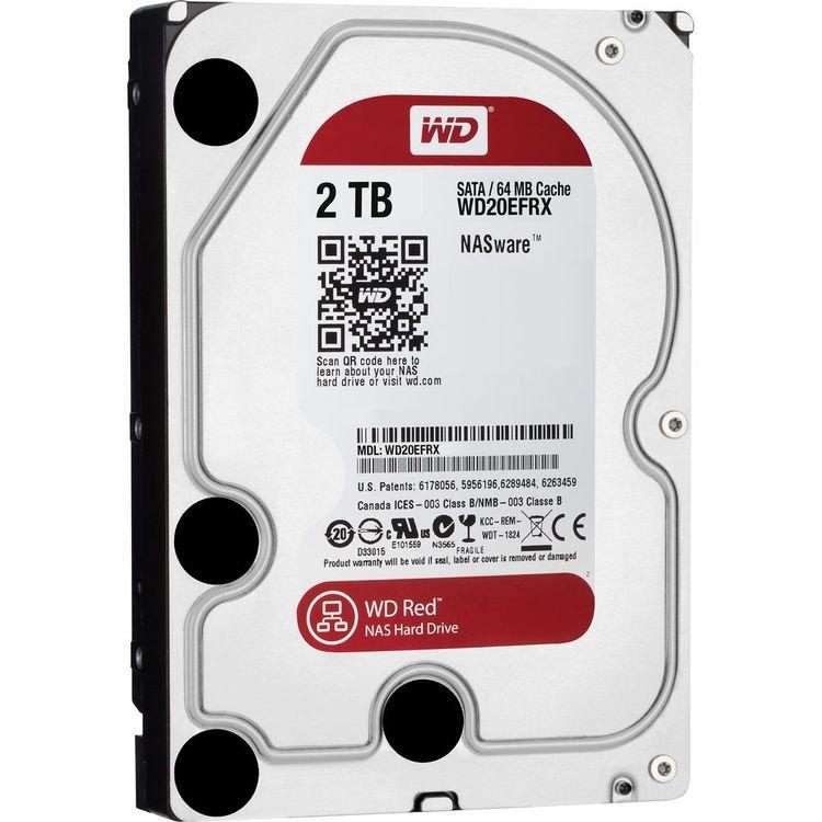 "WD 2TB Red 5400 rpm SATA III 3.5"" Internal NAS HDD"