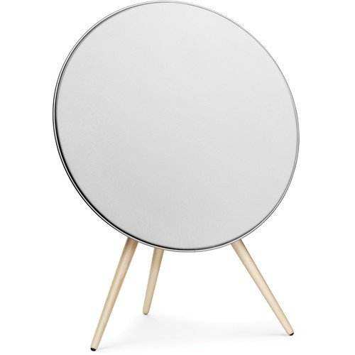 Beoplay A9 One-Point Music System with Maple Legs (White)