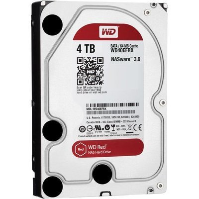 WD 4TB Red 5400 rpm SATA III 3.5