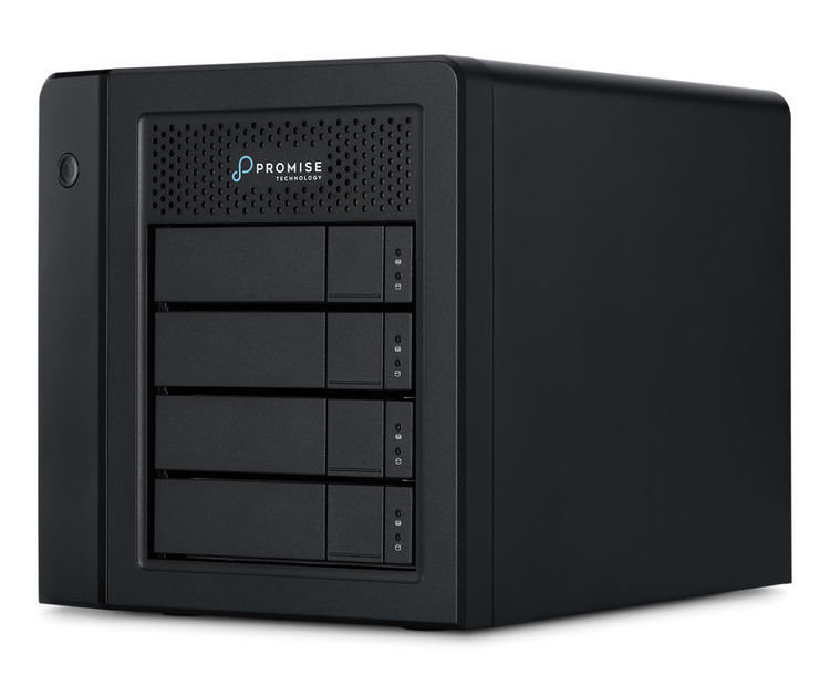 Promise Technology Pegasus3 R4 Mac Edition 12TB 4-Bay Thunderbolt 3 RAID Array (4 x 3TB)