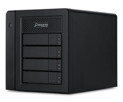 Promise Technology Pegasus3 R4 Mac Edition 12TB 4-Bay Thunderbolt 3 RAID Array (4 x 3TB)