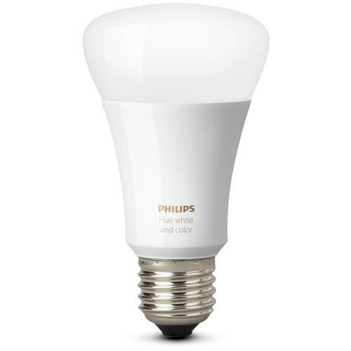 Philips Hue Single Bulb E27 White and Color Ambiance A60 9.5W