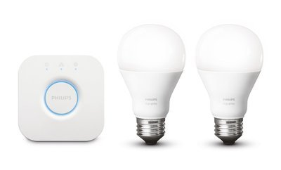 Philips Hue Starter Kit 2 Bulb E27 White A60 + Bridge