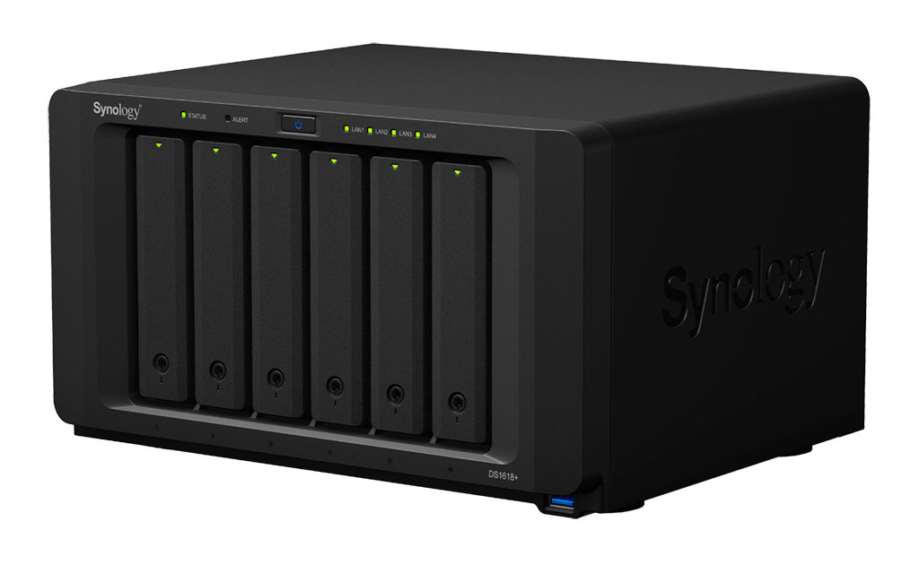 Synology DiskStation DS1618+ 6-Bay NAS