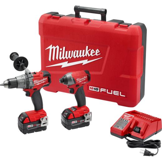 Milwaukee M18 Fuel 2-Tool Combo Kit 2897-22
