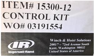 Ingersoll Rand 15300-12 IR CONTROL KIT