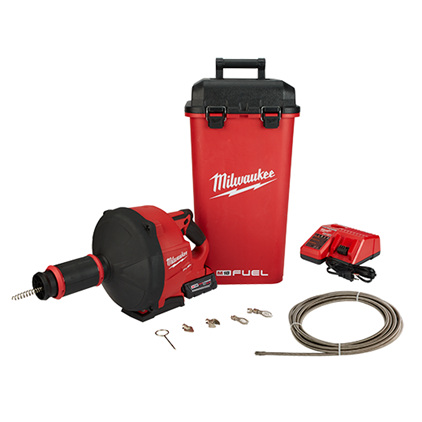 M18 FUEL™ Drain Snake w/ CABLE DRIVE™ Kit 2772B-21XC