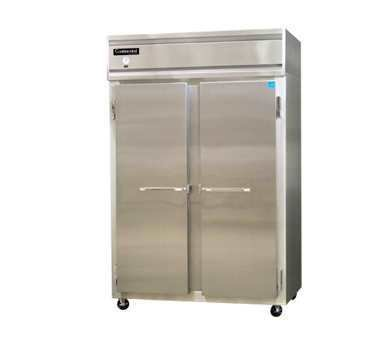 Continental, Two Door Stainless Steel Refrigerator