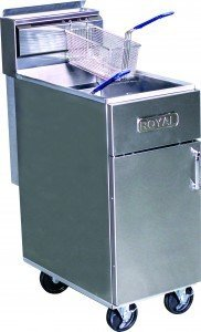 Royal 50lb Deep Fryer Gas RFT-50