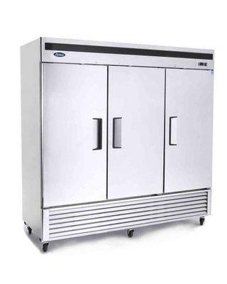 Atosa Bottom Mount Three Door Refrigerator