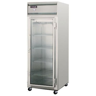 Continental Freezer One Door Glass 1F