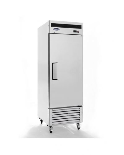 Atosa USA MBF8501 Series Stainless Steel 27-Inch One Door Upright Freezer - Energy Star Rated