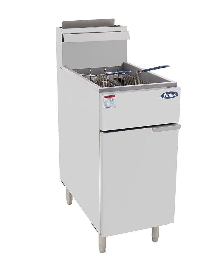 Atgosa ATFS-40 Deep Fryer 40lb  Heavy Duty Stainless Steel