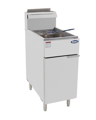 Atgosa ATFS-40 Deep Fryer 40lb  Heavy Duty Stainless Steel