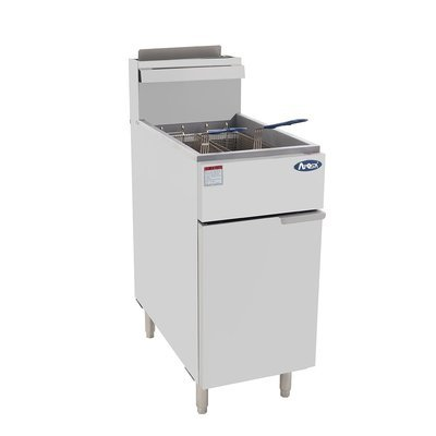 Atosa ATFS-50 HD Deep Fryer 50lb Heavy Duty, Stainless Steel
