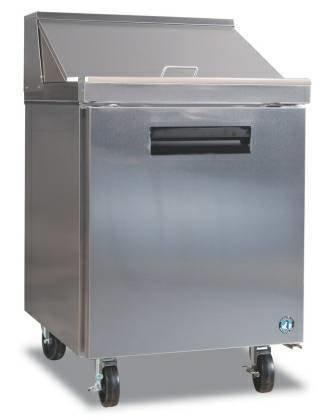 "Hoshizaki 27"" One Door Refrigerator with 8 Pans, CRMR27-8"