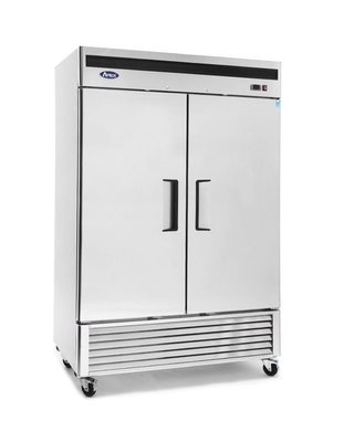Atosa Bottom Mount (2) Two Door Freezer Stainless Steel