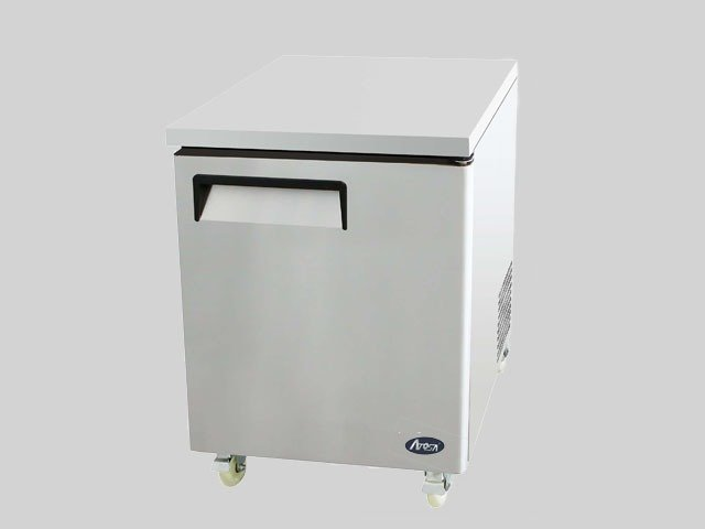 """Atosa 27"""" Undercounter One Door Freezer"""